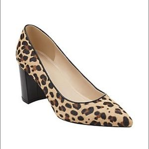 Marc Fisher Claire Leopard Print Pumps
